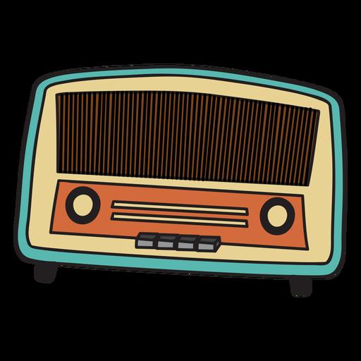 f1d741fd2e6354d4680719dc002c6ee6-vintage-radio-doodle-by-vexels.png